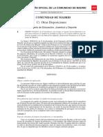 Orden 502-2013 de 25 de Febrero