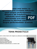 Proiectarea Unui Motor Cu Aprindere Prin Scanteie Licenta