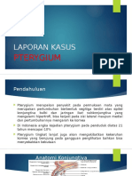 LAPORAN KASUS pterygium