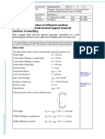 Calculation of effective section OF COLD FORMED.pdf