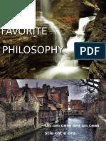 My_Favorite_Philosophy.pps