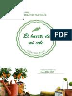 """Proyectos """"Ecohuerto"""" y """"Recapacicla"""" CEPR 19 de Julio"""