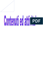 CONTENUTI CURRICOLO