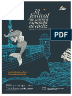 DOSSIER PRENSA XIII Edicion Del Festival de Musica Espanola de Cadiz 2015
