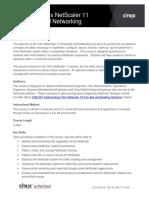 CNS 205 6I Course Description