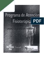Protocolos Primaria Fisioterapia Sacyl