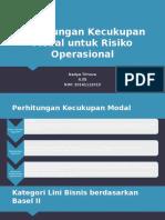 Perhitungan Kecukupan Modal Untuk Risiko Operasional