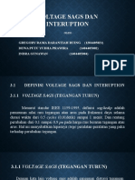 Voltage Sags Dan Interuption