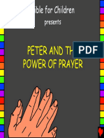 Peter and the Power of Prayer English