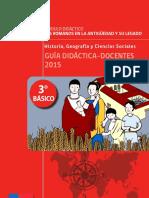GUIA DOCENTE 3 Basico Historia y Geografia