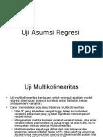 ekonomi Uji Asumsi Regresi.ppt