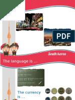 Presentation_ SOUTH KOREA
