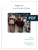 Elements and Principles of Fashion