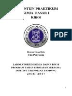 Modul Praktikum Kimia Dasar IA 2016 2017 Final Ukuran Kertas B5 22082016