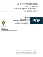 Presentacic3b3n Sistematizacic3b3n Jornadas Universidad de Santiago Incyde2