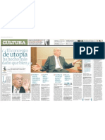 Entrevista de Elmer Menjívar con José Saramago en junio de 2005