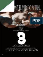 La Religión y el Mundo Actual  de Federico Salvador Ramón – 3 – Un paréntesis