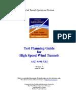 Wind Tunnel Planning