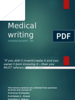 Writing Md Thesis