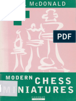 Neil McDonald - Modern Chess Miniatures - Cadogan (1995)