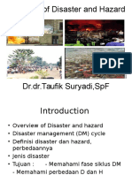 Overview of Disaster and Hazard 2015