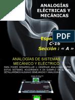 Analogías Eléctricas y Mecánicas