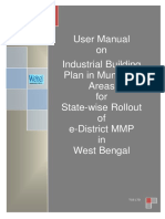 WB EDistrict User Manual Industrial Building Plan in Municpal Area