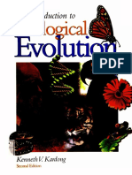 Introduction to Biological Evolution (Table of Contents)