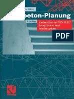 [Architecture eBook] Sichtbeton-Planung_ Kommentar Zur DIN 18217 Betonflächen Und Schalungshaut_