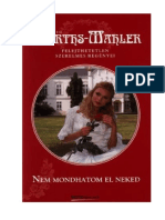 Hedwig Courths-Mahler - Nem Mondhatom El Neked
