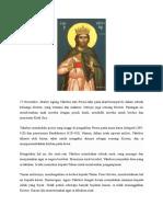 27 November- Martyr Agung Yakobus Dari Persia