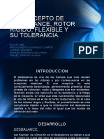 3.6 Concepto de Desbalance, Rotor Rigido, Flexible y Su Tolerancia
