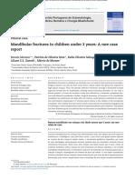 Mandibular Fractures in Children Under 3 Years