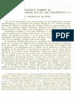 Neofiti 1 - Levitico - Domingo Muñoz, Apéndice Sobre El Memra de Yahweh en El Ms Neophyti 1