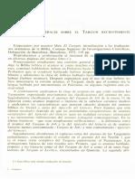 Neofiti 1 - Numeros - II Estudios Generales Sobre El Targum Recientemente Aparecidos
