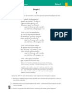 Ficha de Trabalho sobre Poesia Trovadoresca