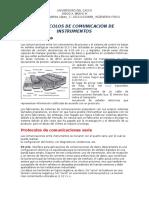 Tabla Corporativa de Protocolos de Comunicación de Instrumentos