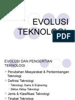Evolusi Teknologi