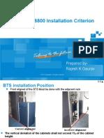 2-4_ZXSDR_BS8800_Installation_Criterion_V1-0_Deepak.ppt