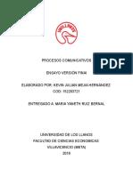 Ensayo de Desigualdad en Colombia
