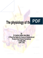 The Physiology of the Skin