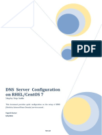Configure DNS Server on RHEL or CentOS 7