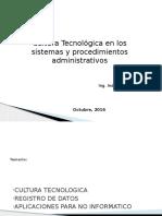 Cultura Tecnologica de Sistemas de Procedimientos Administrativos