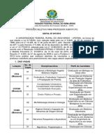 Edital 047 - 2016 - Prof. Substituto