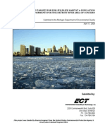 Detroit River Area of Concern's Delisting Targets for Addressing Habitat and Population Beneficial Use Impairments