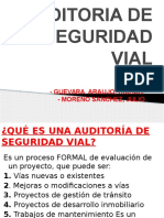 Auditoria de Seguridad Vial
