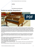 Beethoven and the Harpsichord _ Beethoven Center _ San Jose State University
