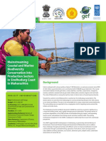 Mainstreaming Coastal and Marine Biodiversity Into Production Se Factsheet