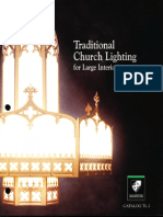 Manning Traditional Church Lighting Large Interiors Catalog TL2 1999