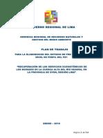 PdT Recuperacion Servicios Ecosistemicos Huaura V1.6 25.01.2016
